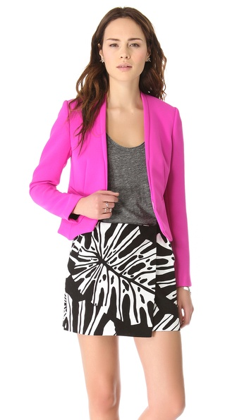 Diane von Furstenberg Illene Double Crepe Blazer