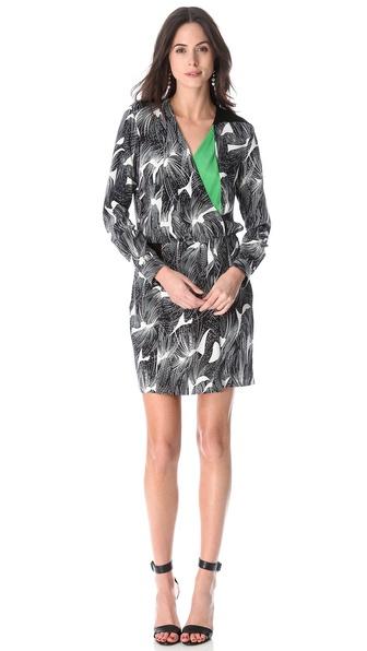 Diane von Furstenberg Magnolia Print Dress