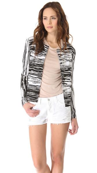 Diane von Furstenberg Ibiza Bis Concealed Sweater