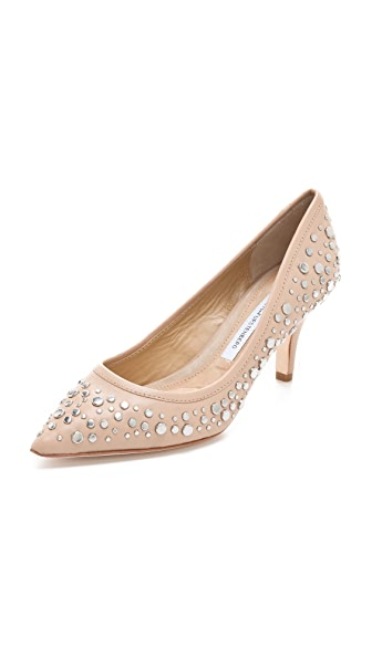 Diane von Furstenberg Antion Studded Pumps