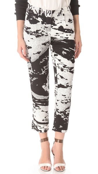 Diane von Furstenberg Naples Landscape Ankle Pants