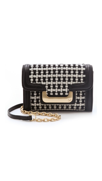 Diane von Furstenberg New Harper Charlie Wool Bag