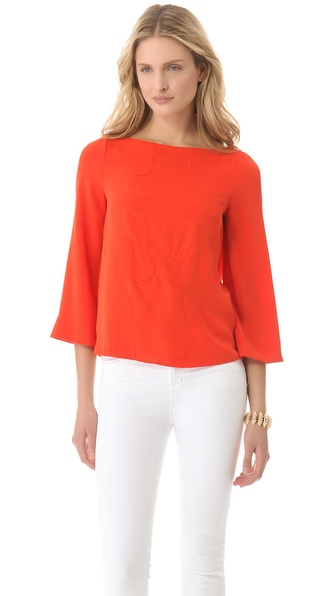 Diane von Furstenberg Yohanna Blouse