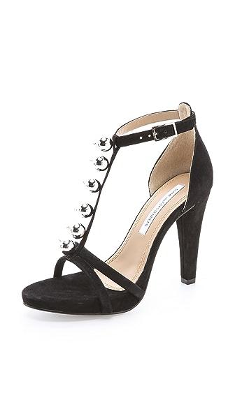 Diane von Furstenberg Sanaa T-Strap Sandals