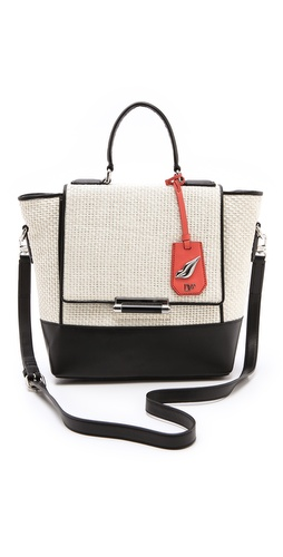 Diane von Furstenberg 440 Small Raffia Bag at Shopbop.com