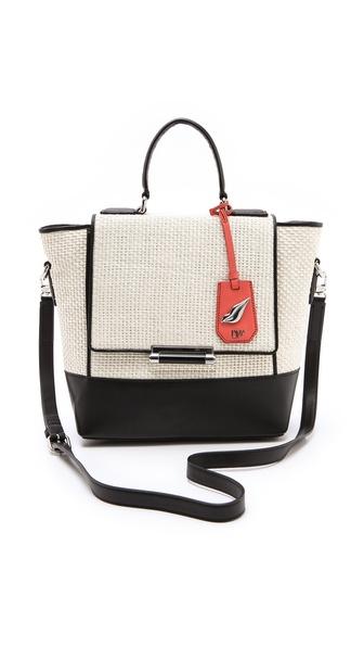 Diane von Furstenberg 440 Small Raffia Bag