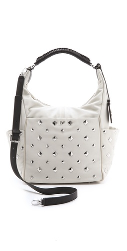 Diane von Furstenberg Franco Pyramid Studded Bag at Shopbop.com