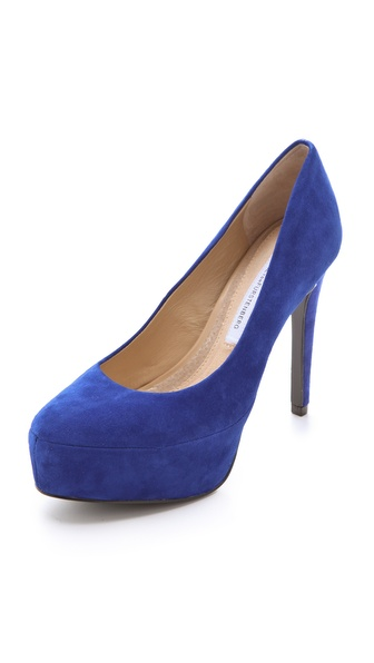 Diane von Furstenberg Renee Platform Pumps