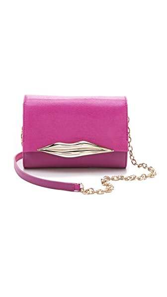 Diane von Furstenberg Lips Mini Cross Body Bag