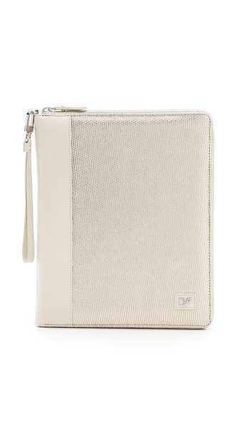 Diane von Furstenberg Metallic Canvas iPad Case