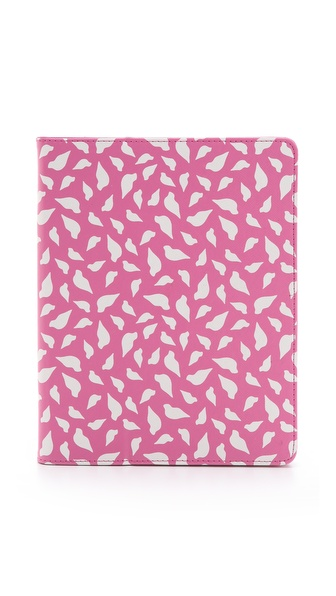 Diane von Furstenberg Printed Lips iPad Book Cover