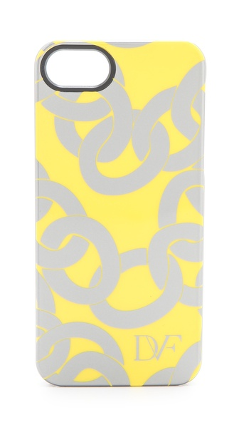 Diane von Furstenberg Metallic Chain Printed iPhone 5 Case