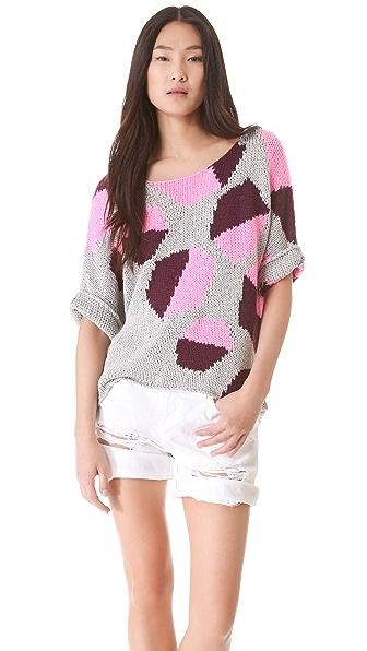 Diane von Furstenberg Zita Intarsia Sweater