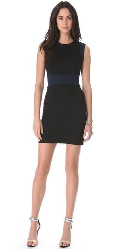 Diane von Furstenberg Gretchen Colorblock Dress