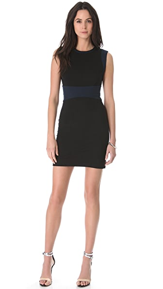 Diane von Furstenberg Gretchen Colorblock Dress