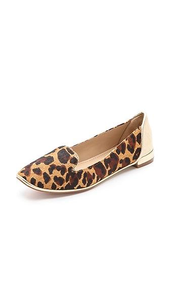 Diane von Furstenberg Carley Haircalf Loafers