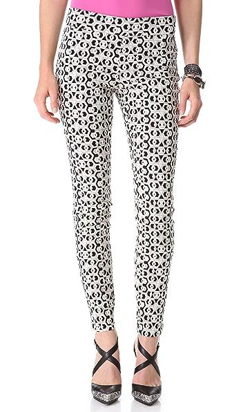 Diane von Furstenberg Rhianna Jacquard Leggings