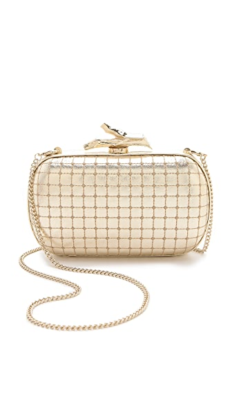 Diane von Furstenberg Lytton Quilted Leather Clutch
