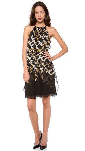 Diane von Furstenberg Olesia Halter Dress
