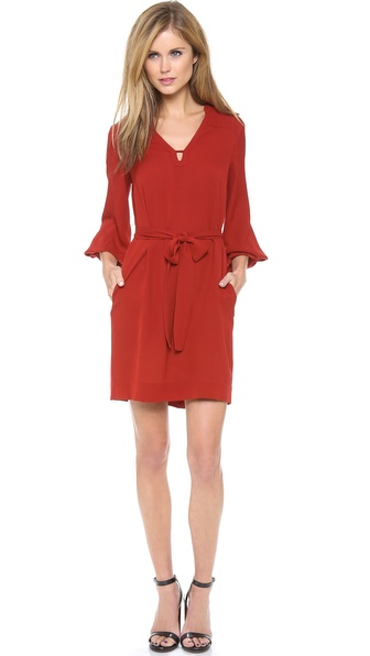 Diane von Furstenberg Tanyana Billow Sleeve Dress