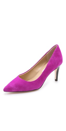 Diane von Furstenberg Anette Suede Pumps at Shopbop / East Dane
