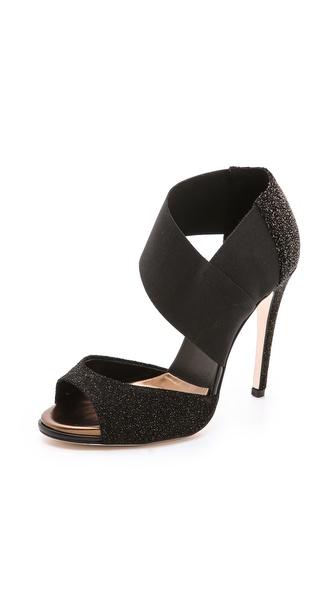 Diane von Furstenberg Raja Elastic Sandals