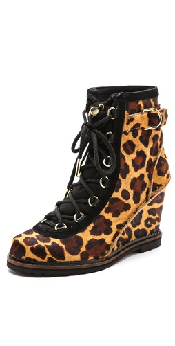 Diane von Furstenberg Senna Wedge Booties at Shopbop / East Dane