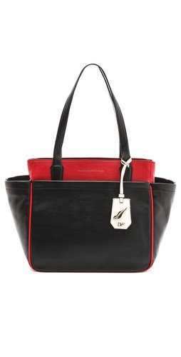 Diane von Furstenberg On the Go Leather Tote at Shopbop / East Dane