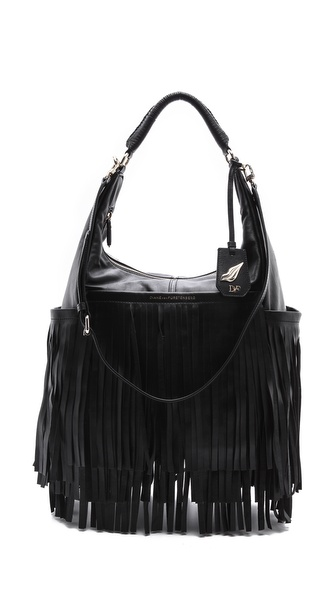 Diane von Furstenberg Franco Fringe Leather Bag