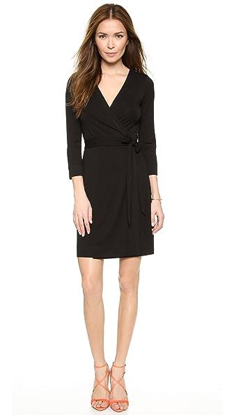 Kupi Diane von Furstenberg haljinu online i raspordaja za kupiti Diane Von Furstenberg Julian Mini Wrap Dress Black online