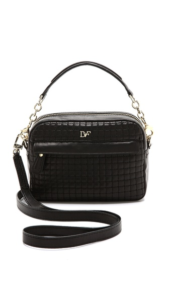 Diane von Furstenberg Milo Quilted Leather Mini Bag