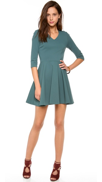 Diane von Furstenberg Jeannie V Neck Dress