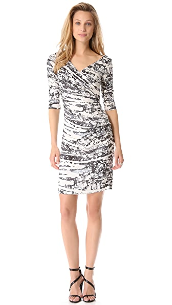 Diane von Furstenberg Bently 3/4 Dress