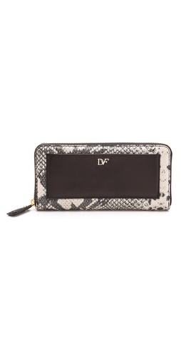Diane von Furstenberg Lips Zip Around Wallet at Shopbop / East Dane