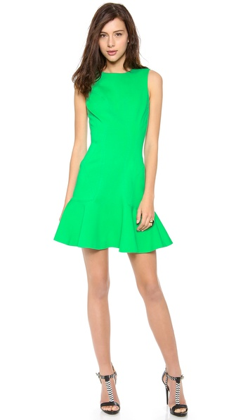 Diane von Furstenberg Jaelyn Sleeveless Drop Waist Dress