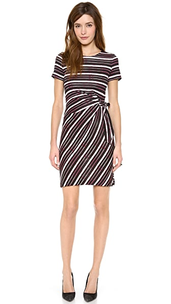 Diane von Furstenberg Brie Cap Sleeve Dress