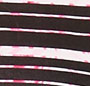 Metallic Stripe Small Cherry