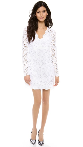 Diane von Furstenberg Hippolyte Crochet Dress