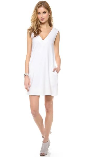 Diane Von Furstenberg Benten Dress - Optic White