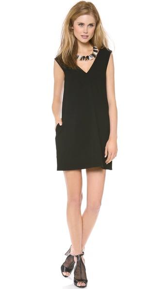 Diane Von Furstenberg Benten Dress - Black