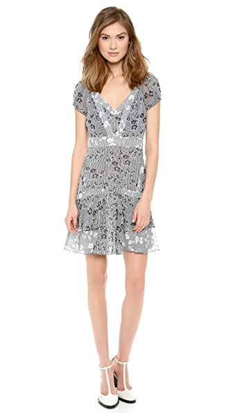 Diane von Furstenberg Heidi Tiered Dress