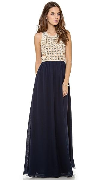 Diane von Furstenberg Gidget Embellished Gown