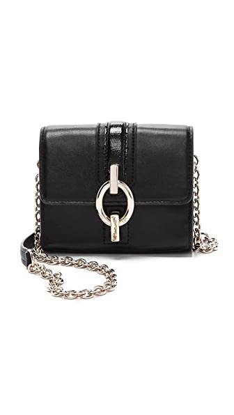 Diane von Furstenberg Sutra Leather Micro Mini Bag