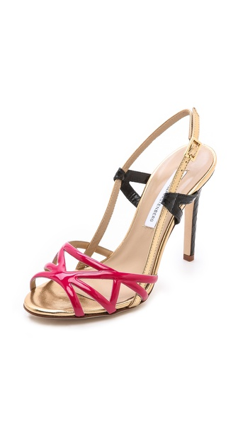 Diane von Furstenberg Upton Strappy Sling Sandals