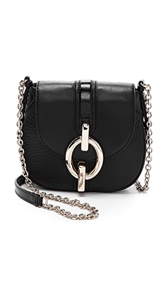 Diane von Furstenberg Sutra Snakeskin Mini Bag