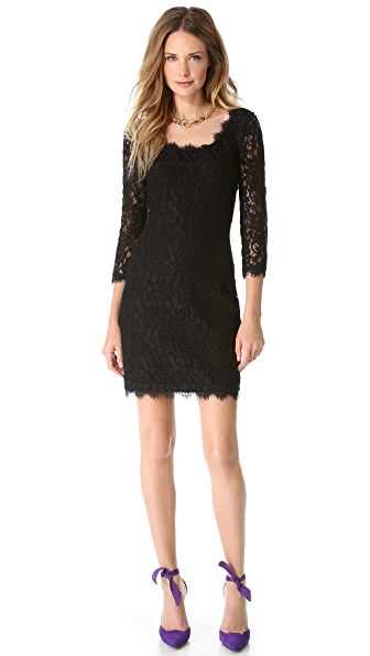 Diane von Furstenberg Zarita Scoop Dress