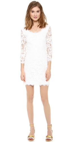 Diane von Furstenberg Zarita Scoop Dress at Shopbop / East Dane