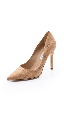 Diane von Furstenberg Bethany Point Toe Pumps