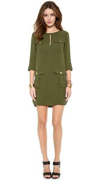 Diane von Furstenberg Agness Pocket Dress