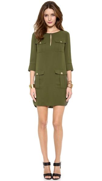 Diane von Furstenberg Agness Pocket Dress